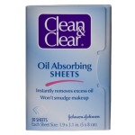 clean n clear oil absorbing sheets how to stop oily skin mattify powder
