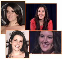 Split Screen - LEFT Rose from Two and a Half Men (Melanie Lynskey) RIGHT (Kree Harrison) from American Idol 2013