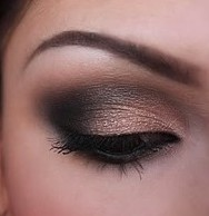 Black & Nude Smokey Eye Mattify Cosmetics