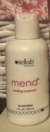 best silicone free hair products Sidlab Mend