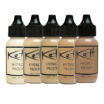 kett hydro proof waterproof makeup for oily skin airbrush liquid foundation