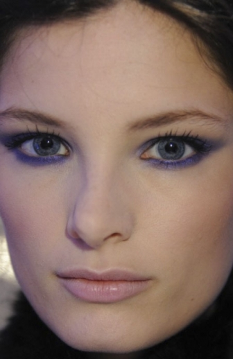 purple eye liner shadow products for oily skin makup 2013 fall winter matte